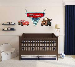 Vinyl stickers on walls for children