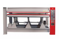 Press for veneer gluing of HP (Holzmann)