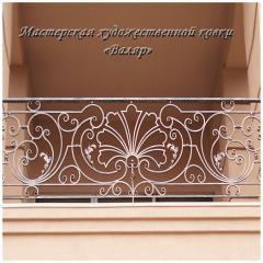 Ograzheniya of balconies (shod balconies), ladders