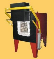 Electric ovens (electric furnaces) chamber