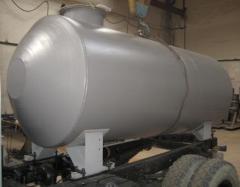 Tanks are vacuum assenizatorsky
