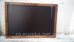 Menu board cretaceous, for fast change of information 100х80
