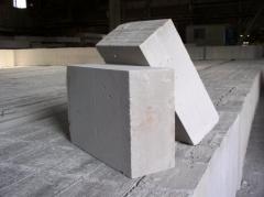 Блоки из ячеистого бетона с паз-гребнем, ...
