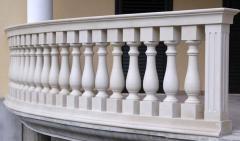 Balustrades from a steklofibrobeton