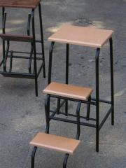 The chair step-ladder which is displayed