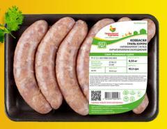 Полуфабрикаты в маринаде ТМ Гавриловские курчата: Колбаски гриль куриные; Колбаса по-домашнему; Колбаски охотничьи куриные; Колбаски набор для гриля