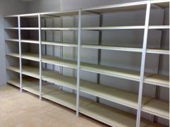 Racks for storage facilities