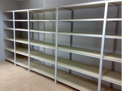 Racks for storage facilities
