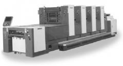 Sale of the printing equipmen