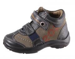 Ботинки для мальчика кожаные демисезонные, ...