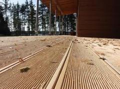 Terrace board the oak is clear a pine an alder