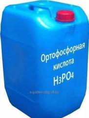 Acid about - phosphorus 85%, 75%