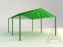 Canopies from polycarbonate. Canopy 01