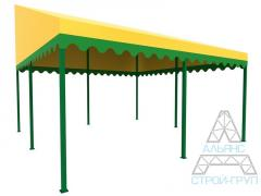 Canopies from polycarbonate. Canopy 07