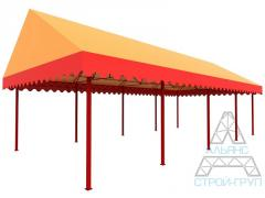 Canopies from polycarbonate. Canopy 08