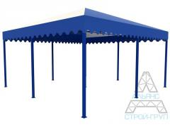 Canopies from polycarbonate. Canopy 09