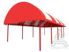 Canopies from polycarbonate. Canopy 10
