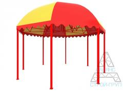 Canopies from polycarbonate. Canopy 11