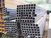 Pipe profile in assortment 20x20x2, 25x25x2,