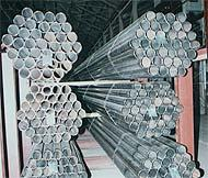 Pipe VGP galvanized welded straight-line-seam