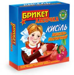 Kissel in briquette 250 gr. Cherry and strawberry