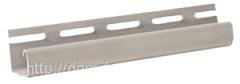 J-trim планка для цокольной панели кирпич, камень,