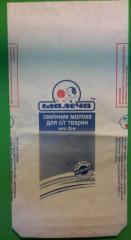 Бумажный пакет для сухих смесей