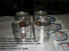 Piston motorokomplekt D3900, D2500