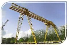 Production of load-lifting cranes goa