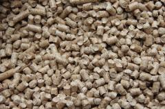 Wood pellets, fuel granules industrial