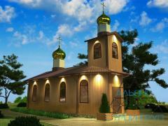 Церкви,  часовни. Церковь 01
