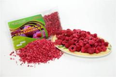 Raspberry sublimated Fruit and berries sublimated