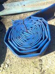 Waste of an irrigation hose - PVC