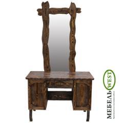 Semi-antique furniture, Pier glass with a mirror