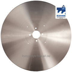 Knives disk for toilet paper 610×4,76×60 Blecher