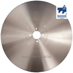 Knives disk for toilet paper 610×4,76×60 Blecher