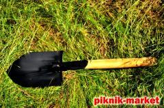Лопата сапёрная складная из высококачественной