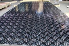 Лист алюминиевый рифленый из сплавов АМГ3Н2, АМЦН2 алюминий цена купить