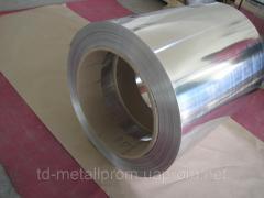 Лента алюминиевая из сплавов АД1Н,  1105АМ...