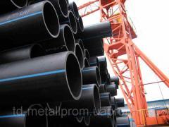 Polyethylene pipes pressure PE-100 and PE 80