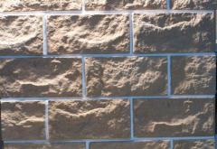 Фасадная плитка дикий, рваный камень. Колотый