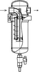 KFSV filters for purification of compressed air of