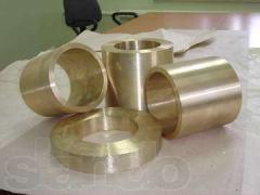 Plug bronze BrAZh 9-4 280х160х60 of mm