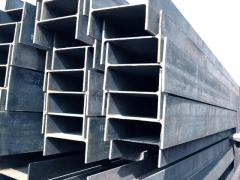 Beams two-T-shaped of carbon steel