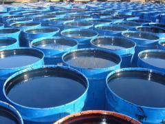Bitumens oil road