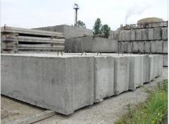 Блоки бетонные для стен подвалов