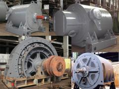 Knots and details to electric motors of