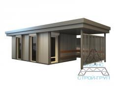 The passenger shelters fast-mounted. Passenger shelter 21
