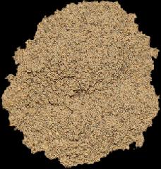 Premium ground black pepper. Spices in assortmen