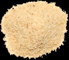 Granule garlic. vegetables dried